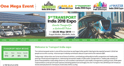 3rd Transport India 2018 Expo