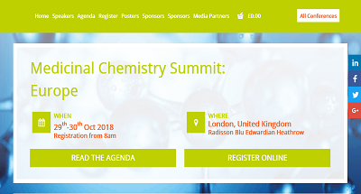 2nd Medicinal Chemistry Summit: Europe