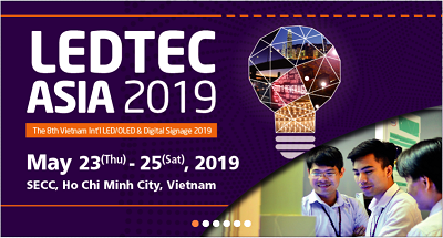 Vietnam Int'l LED/OLED & Lighting Show (LEDTEC ASIA 2019)