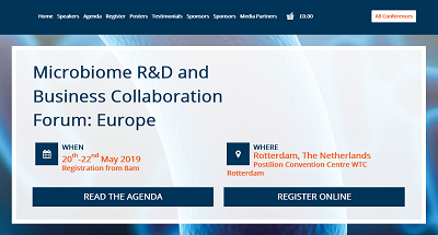 6th Microbiome R&D and Business Collaboration Forum: Europe