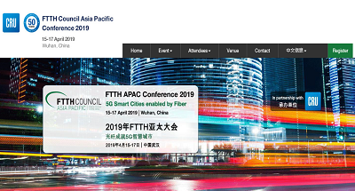 FTTH APAC Conference 2019