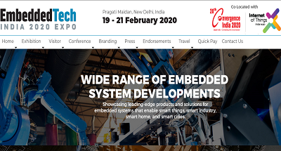 Embedded Tech India Expo 2020
