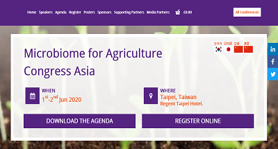Microbiome for Agriculture Congress Asia
